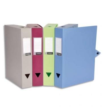 VIQUEL Boîtes de classement CLASSDOC, en polypropylène 8/10ème, dos 8 cm, coloris assortis
