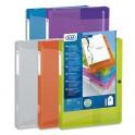 ELBA Boîte de classement transparence personnalisable POLYVISION 24 x 32 et dos 4 cm, coloris assortis translucide