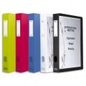 ELBA Boîtes de classement personnalisable POLYVISION 24 x 32 cm dos 4 cm coloris assortis opaque