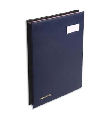 EXACOMPTA Parapheur L'expansé 24 compartiments bleu, couverture en PVC