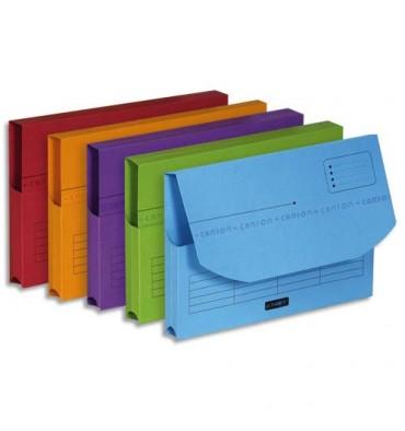 ELBA Paquet de 25 pochettes à rabat ULTIMATE. Dimensions : 235 x 315 mm, carte CANSON assortis