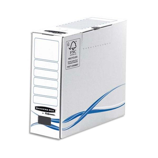 BANKERS BOX Boîtes archives gamme BASIC dos de 8 cm (photo)