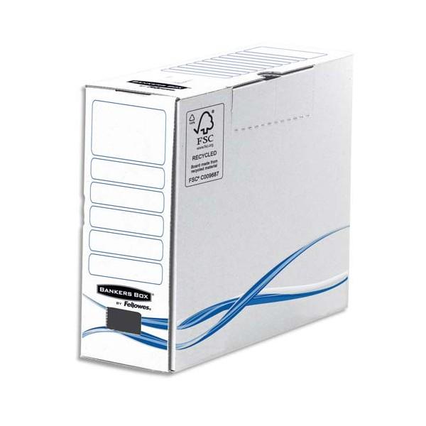BANKERS BOX Boîtes archives gamme BASIC dos de 10 cm (photo)