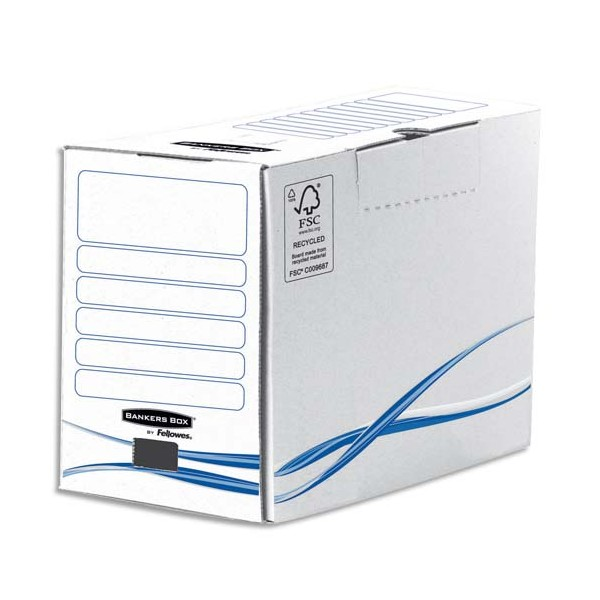 BANKERS BOX Boîtes archives gamme BASIC dos de 20 cm (photo)