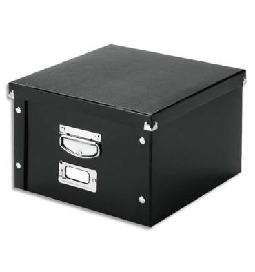 LEITZ Boîte Click & Store taille S fermeture boutons pression coloris noir