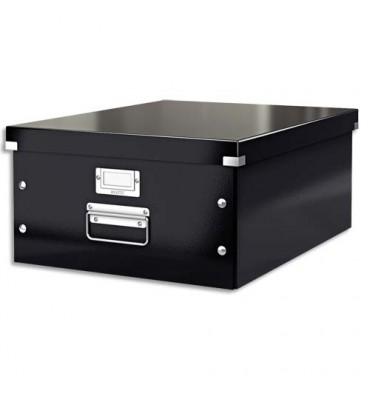 LEITZ Boîte CLICK & STORE L-Box. Format A3 - Coloris noir
