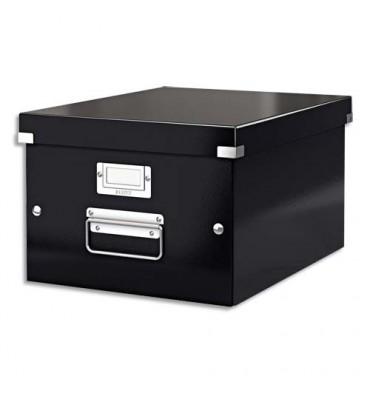 LEITZ Boîte CLICK & STORE M-Box. Format A4 - Coloris noir