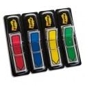POST-IT Set de 4x24 index flèche couleur classique format 12x44 mm