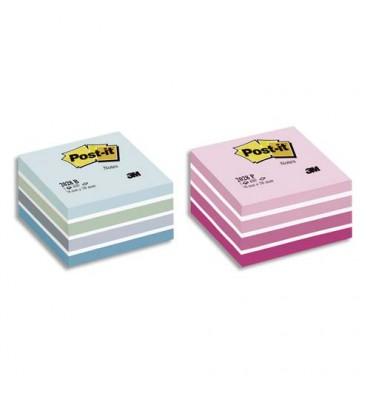 POST-IT Bloc cube PLAISIR Light 7,6 x 7,6 cm 450 feuilles