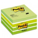 POST-IT Bloc cube aquarelle 7,6 x 7,6 cm 450 feuilles coloris assortis reves