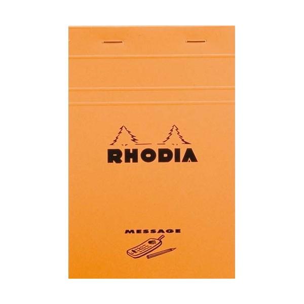 RHODIA Bloc message n°140 format 11 x 17 cm 80 grammes