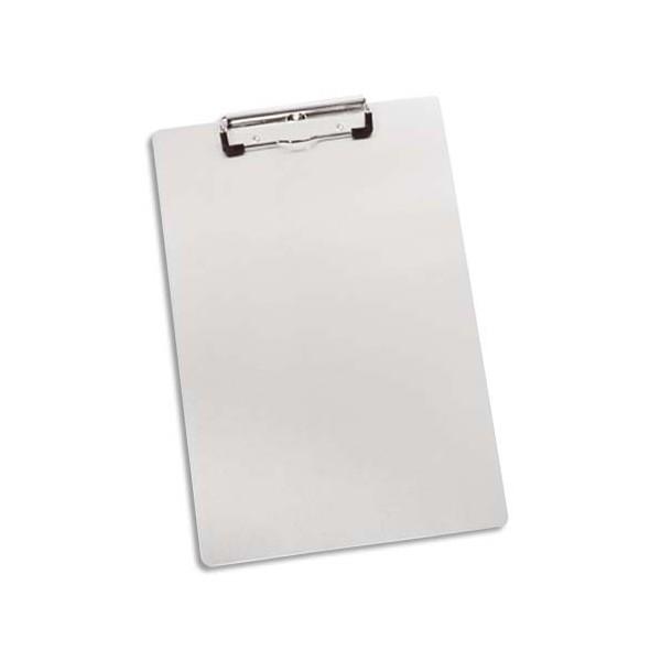 ALBA Porte-bloc en métal aluminium blanc 23 x 35 cm