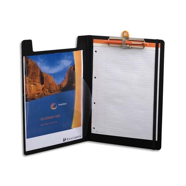 EXACOMPTA Porte-bloc Exactive avec rabat - format A4 - 23,7 x 1,5 x 33,5 cm