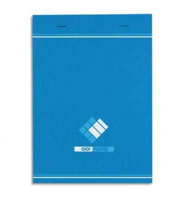 HAMELIN Bloc bureau 60 grammes format 14,8 x 21 cm agrafé règlure 5x5