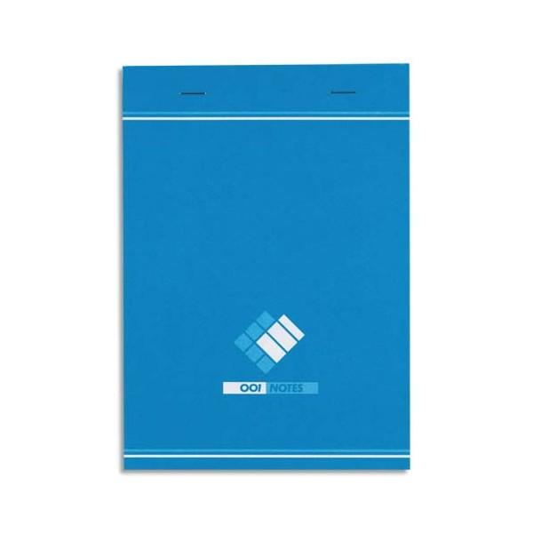 HAMELIN Bloc bureau 60g format 14,8 x 21 cm agrafé réglure 5x5