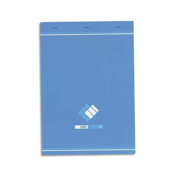 HAMELIN Bloc bureau 60g 21 x 29,7 cm agrafé réglure 5x5