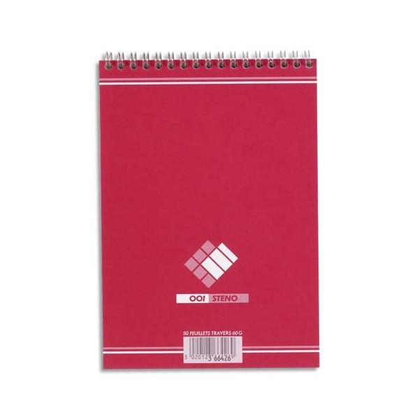 HAMELIN Bloc sténo format 14,8 x 21 cm 180 pages unies