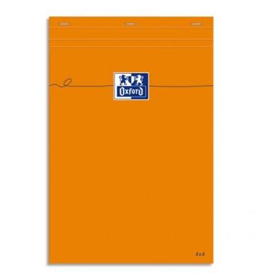 OXFORD Bloc IDEA perforé 21 x 29,7 cm 80 grammes réglure 5x5