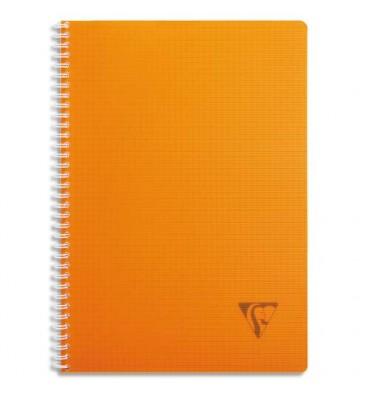 CLAIREFONTAINE LINICOLOR cahier spirale couverture polypropylène 180 pages A4 Seyès