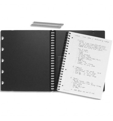 RHODIA Recharge pour cahiers EXABOOK spiralé 160 pages 5x5 22,5 x 29,7 cm