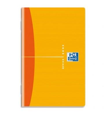 OXFORD Carnet reliure piqûre couverture souple format 9 x 14 cm 96 pages réglure 5x5