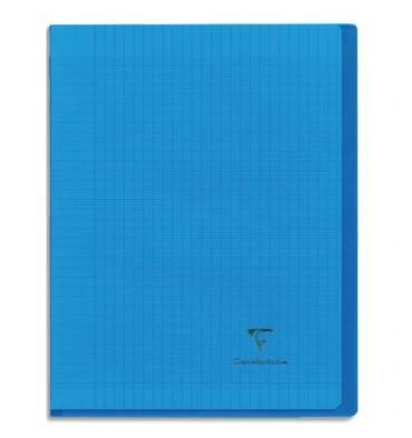 CLAIREFONTAINE Cahier KOVERBOOK piqûre 96 pages Seyès 17 x 22 cm couverture polypropylène assortie