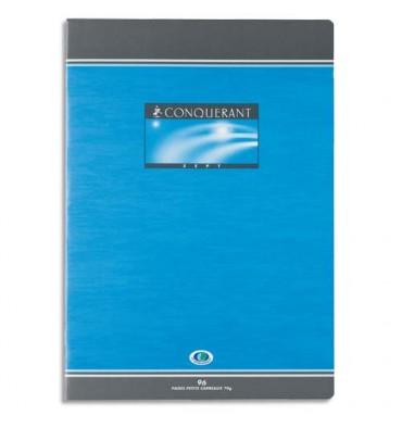 CONQUERANT SEPT BY HAMELIN Cahier reliure piqûre 21 x 29,7 cm 96 pages 5x5 papier 70g NF 16
