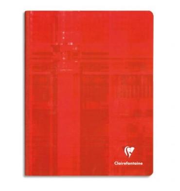 CLAIREFONTAINE Cahier reliure brochure rigide 21 x 29,7 cm 192 pages Seyès papier 90g