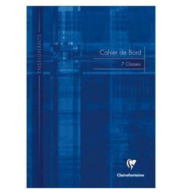 CLAIREFONTAINE Carnet de notes des professeurs reliure piqûre 21 x 29,7 cm 72 pages