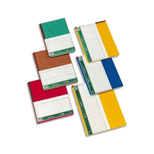 LE DAUPHIN Piqûre trace comptable folioté 24,5 x 31,5 cm 80 pages 13 colonnes