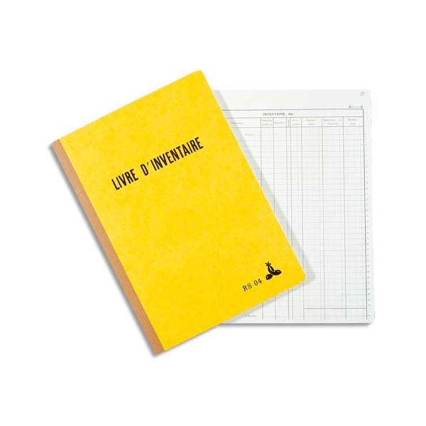 LE DAUPHIN Piqûre livre d'inventaire 21 x 29,7 cm 160 feuilles