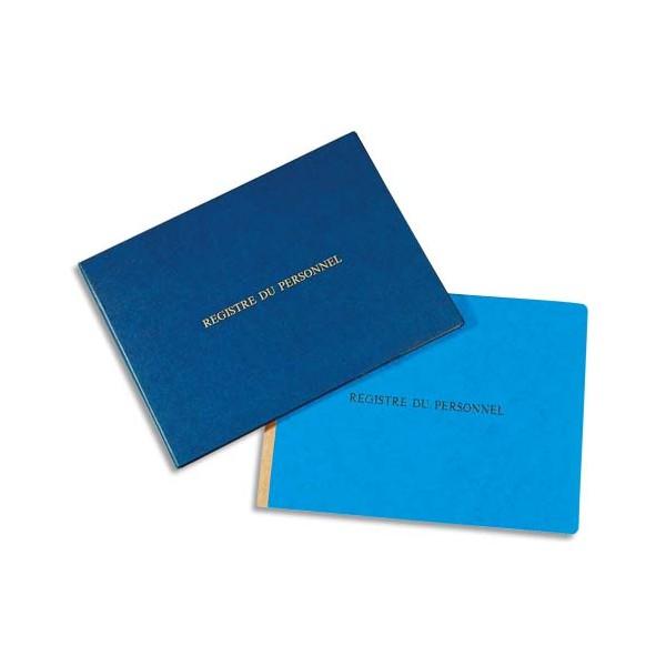 LE DAUPHIN Registre du personnel 24 x 32 cm 80 pages + garde