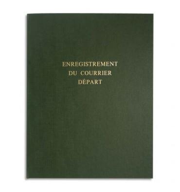 LE DAUPHIN Corrigé pour enregistrement du courrier départ 160 pages en 24 x 32 cm