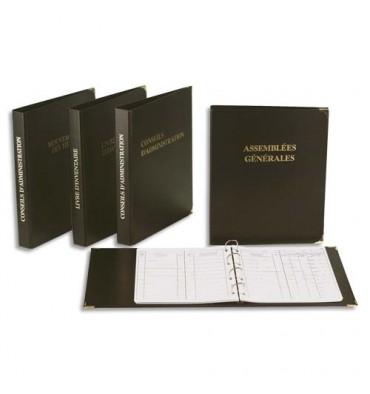 EXACOMPTA Classeur livre d'inventaire, 100 pages, 26 x 32 cm