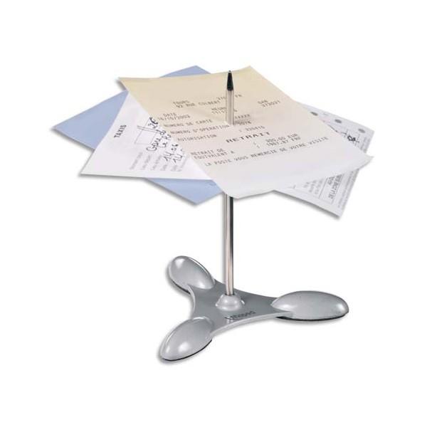 MAPED Pique note avec socle et tige métallique, livré démonté