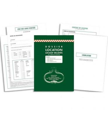 EXACOMPTA Kit dossier location meublée feuillets contrat de location + état des lieux 62E