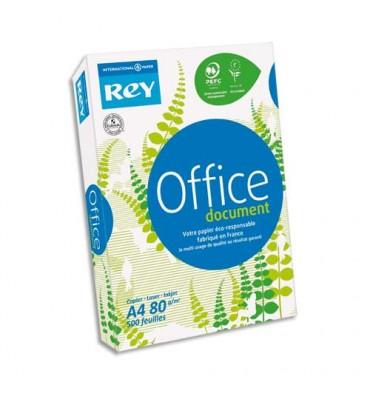 REY BY PAPYRUS Ramette 500 feuilles papier très blanc OFFICE DOCUMENT PAPER copieur, laser, jet d'encre 80g A3
