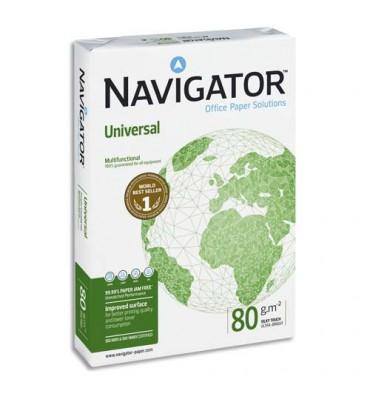 NAVIGATOR Ramette de 500 feuilles blanc Navigator Universal A4 80g CIE 169