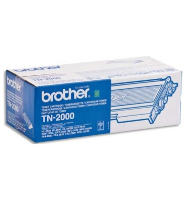 BROTHER Cartouche toner laser noir TN-2000