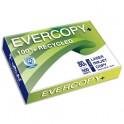 CLAIREFONTAINE Ramette de 500 feuilles A3 80g, papier 100% recyclé blanc Evercopy+ CIE 95