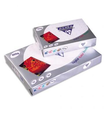 CLAIREFONTAINE Ramette de 125 feuilles papier blanc DCP copieur, laser, jet d encre couleur 250g A4