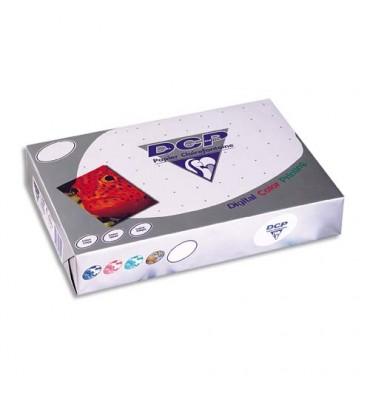 CLAIREFONTAINE Ramette de 250 feuilles papier blanc DCP copieur, laser, jet d'encre couleur 160g A4