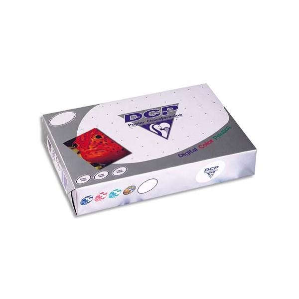 CLAIREFONTAINE Ramette de 250 feuilles papier blanc DCP copieur, laser, jet d encre couleur 160g A3