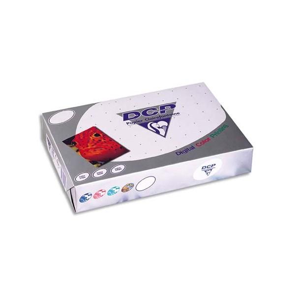 CLAIREFONTAINE Ramette de 250 feuilles papier blanc DCP copieur, laser, jet d'encre couleur 120g A4