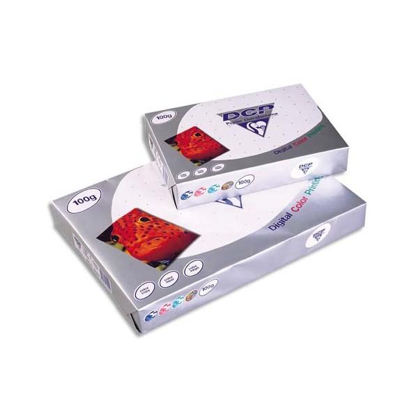 CLAIREFONTAINE Ramette de 500 feuilles papier blanc DCP copieur, laser, jet d encre couleur 90g A4