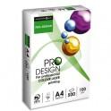 INAPA Ramette de 250 feuilles papier blanc PRODESIGN 160g A4 impression laser couleur CIE 168