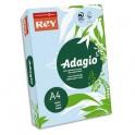 REY BY PAPYRUS Ramette de 500 feuilles papier couleur ADAGIO copieur, laser, jet d'encre 80g format A4 bleu