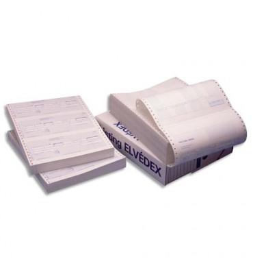 ELVE Paquet de 600 lettres de change en continu, 3 traites par paravent. Format 240 x 12 pouces