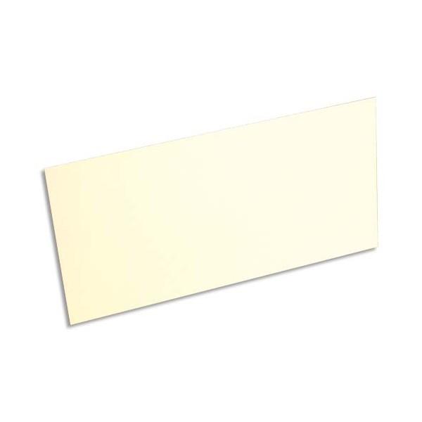 POLLEN BY CLAIREFONTAINE Paquet de 25 cartes 210g POLLEN 10,6 x 21,3 cm. Coloris ivoire