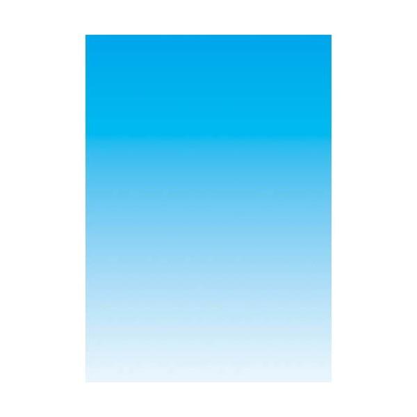 DECADRY Boîte de 250 feuilles papier couleur copieur, laser, jet d'encre recto/verso 80 gr A4 bleu